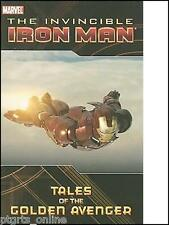 Invincible Iron Man Tales of the Golden Avenger by Venditti (2010, Paperback)NEW