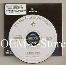 2006 2007 2008 2009 Acura MDX Navigation White DVD Map U.S Canada 2011 Update