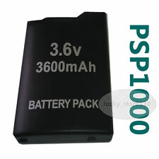 Best Rechargeable Battery Pack Replacement for Sony PSP 1000 Console