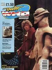 DOCTOR WHO MAGAZINE #164 MAREK ANTON, MARK AYRES, JOHN NATHAN-TURNER
