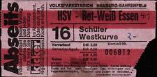 Ticket BL 75/76 Hamburger SV - Rot-Weiß Essen