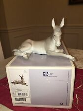 LLADRO NATIVITY DONKEY #5483  MINT CONDITION WITH BOX