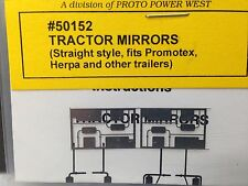 HO 1/87 A-Line # 50152 Straight Arm Mirrors
