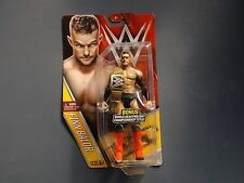 WWE Finn Balor NXT figure with WWE championship belt