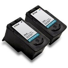 Ink Cartridge Canon PIXMA MX420 MP480 MX330 MX350 MP499 PG-210XL CL-211XL 2 Pack