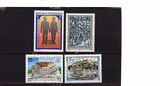 AUSTRIA - 1391-4 - FOUR STAMPS - FINE MINT NH - 1987