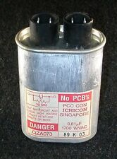 Used High Voltage Capacitor 0.81MFD UF 1700v 1700 WVAC Microwave Vintage antique