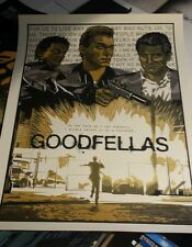 Scorsese's Goodfellas - Limited Edition Screen Print  By New Flesh NE nt Mondo