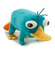 "Disney Store Phineas & Ferb Perry Platypus Plush Toy Stuffed Animal Gift 10"" NEW"