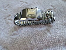 VINTAGE COMET WRIST WATCH TYPE LIGHTER - JAPAN - FLINT & WICK TYPE - FLIP-OPEN