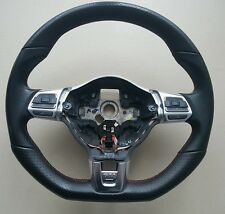 VW Mk6 5Golf GTI Gli R32 Multi Function Steering Wheel Flat Bottom touran tiguan