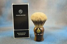 Silvertip Badger Shaving Brush - Faux Horn Handle - Frank Shaving Co. New In Box