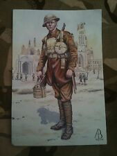Military Postcard 1st Hertfordshire Regiment 37th Ypres 1917 by Alix Baker