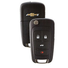 New Flip Key Keyless Entry Remote Key Fob for Chevrolet 4-button