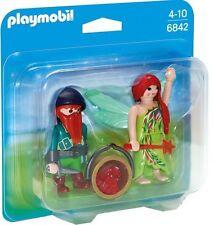 6842 Blíster elfa y enano playmobil,NOVEDAD EN STOCK,dwarft and elf duo,gnomo