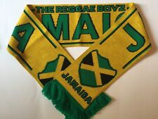 JAMAICA Football Scarf made with soft luxury acrylic yarns NEW