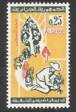 Algeria 1964 Re-afforestation/Trees/Planting/Environment/Plants/Nature 1v n39581