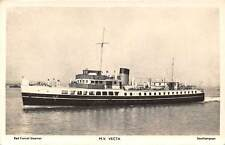 England , Southampton, M.V. Vecta, Red Funnel Steamer, Ship 1963