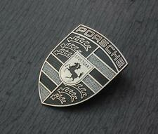 GENUINE PORSCHE Refinished Hood Crest / Emblem / Badge / Shield - FREE SHIPPING!