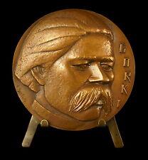 Médaille l'écrivain russe Maxime Gorki Gorky Alekseï Maksimovitch Pechkov Medal
