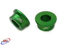 KAWASAKI KX 85 2001-2017 FRONT WHEEL SPACERS GREEN