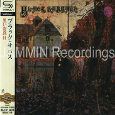 BLACK SABBATH - SELF TITLED S/T - JAPAN SHM JEWEL CASE CD - SEALED - UICY-20038