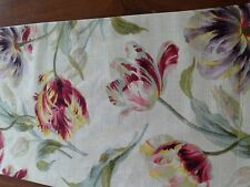 Laura Ashley Gosford  Cranberry Table Runner  Fully Lined. New!
