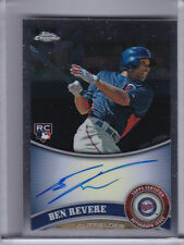 2011 TOPPS CHROME #175 BEN REVERE AUTO. ROOKIE RC MINNESOTA TWINS