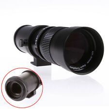 420-800mm F/8.3-16 Super Telephoto Zoom Lens for Canon EOS 7D 5D Mark II III 6D