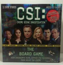 BRAND NEW CSI The Board Game Factory Sealed