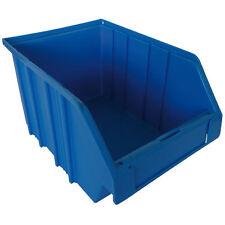 Bac de rangement Bleu en plastique - 2 L