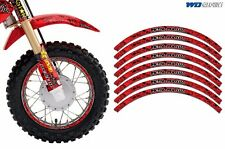 Rim Trim Kit For Honda CR CRF CRM XR MX Dirt Bike Decals Racing Stickers MU