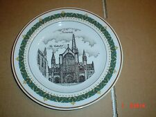 The Canterbury Collection Collectors Plate NORWICH - THE CATHEDRAL