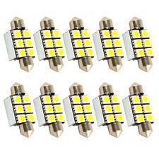 WEISS - 10 x C5W 36mm 6 x SMD LED STRAHLER LICHT CANBUS LAMPE LEUCHTE SOFFITEN