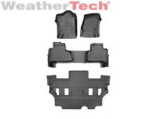 WeatherTech® FloorLiner for Chevrolet Tahoe w/Bucket Seats - 2015-2016 - Black