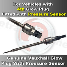Genuine Glow Plug Vauxhall Insignia 2.0CDTi WITH Pressure Sensor Fitted 4th Plug