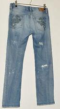 """Diesel viker jeans pantalon w 34"""" l 32 effet vieilli jeans déchiré"""