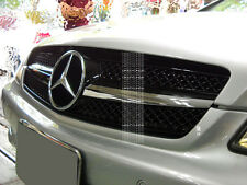 MERCEDES W219 BLACK CLS350 CLS500 MESH GRILLE CLS NEW 1FIN STAR GRILL AMG FRONT