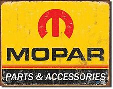 Mopar Parts logo '64-'71 metal sign    (de)