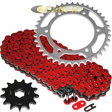 Red O-Ring Drive Chain & Sprockets Kit Fits HONDA XR250L 1991 92 93 94 95 1996