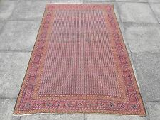 Antique Shabbychic Traditional Hand Made Persian Oreintal Wool Red Rug 183x125cm