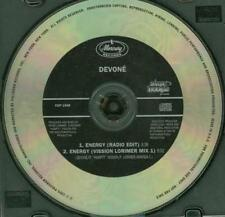 Devone Energy PROMO Music CD Radio Edit Vission Lorimer 2 track CDP 1548 Mercury