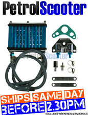 Blue Pit Dirt Bike DIY OIL COOLER Kit Change 110cc 125cc 140cc Oil Cool Engine