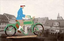 Babette Schweizer German Zinnfiguren Pewter - Opel Motorrad 1905 - Motorcycle