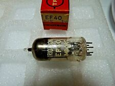 EF40 Triotron   New Old Stock Electronic Valve 1PC A17A