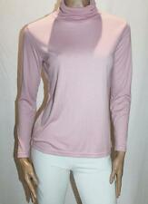 TWIN LAKES Brand Pink Blush Plain Skivvie Top Size M BNWT #TC04