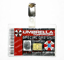 Resident Evil ID Badge Umbrella Corp Special Covert Ops Cosplay Halloween