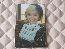 (ver. Hyoyeon) Girls' Generation SNSD 5th Album Lion Heart Photocard KPOP