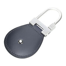 A Montblanc Meisterstuck Flannel Leather Key Fob 114516