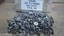 x 50 NETTLEFOLDS 0.6cm x 6 LATÓN TORNILLOS AVELLANADOS GKN CON RANURAS